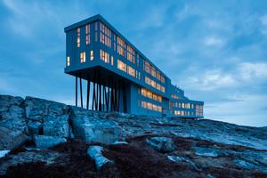 Fogo Island Inn - et hotel på en ø