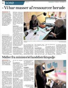 Artikel, Sjællandske d. 21.12.2017